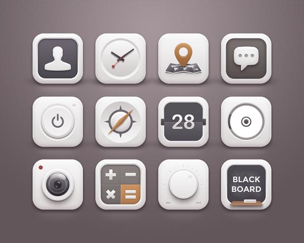 iPhone App Icons