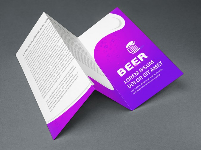 Beer Brochure Template