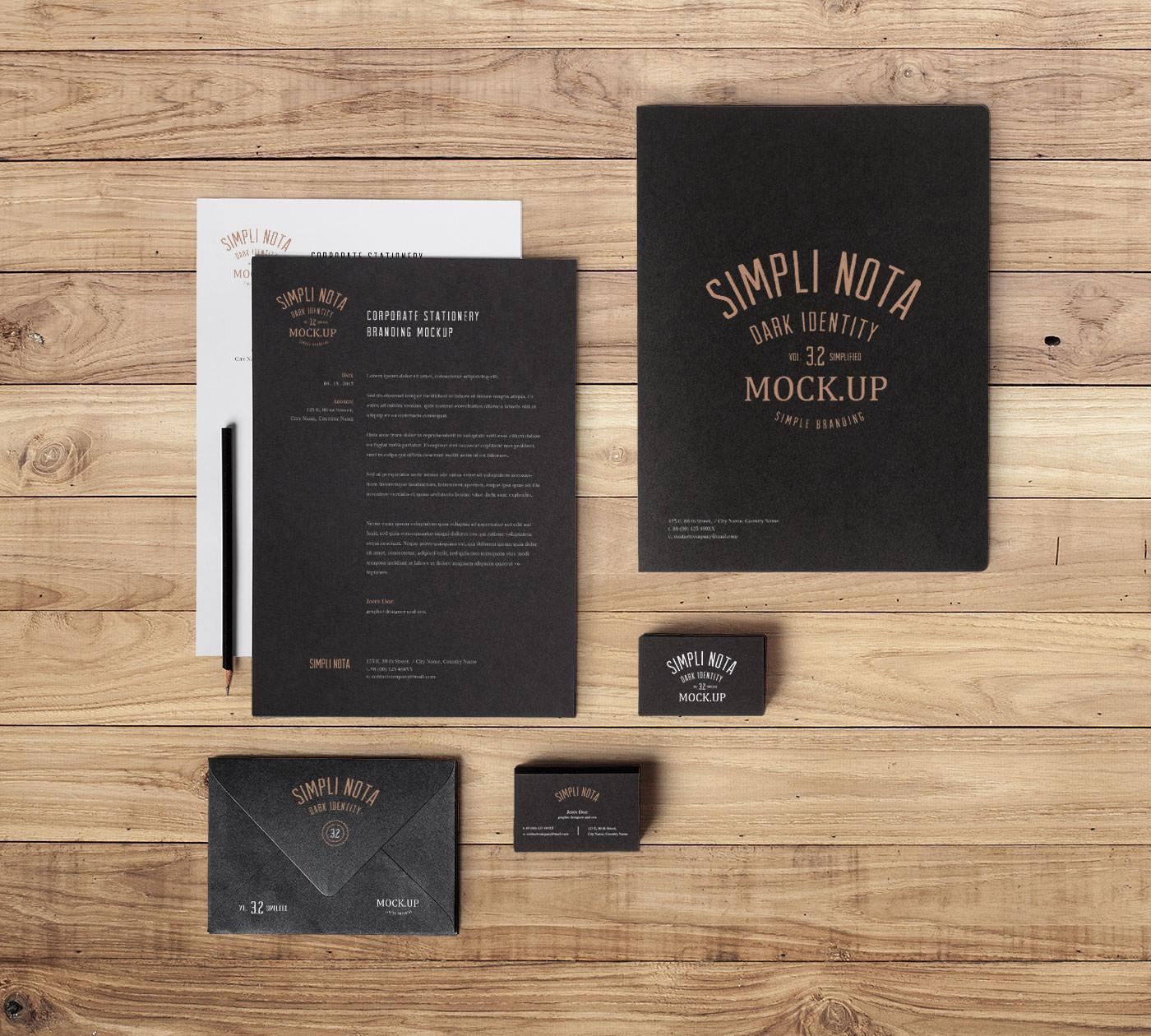 Translation House Corporate Stationery Design: Elegant Corporate Stationery Design