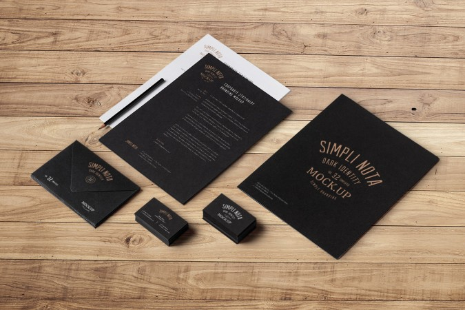 Elegant Corporate Stationery Design