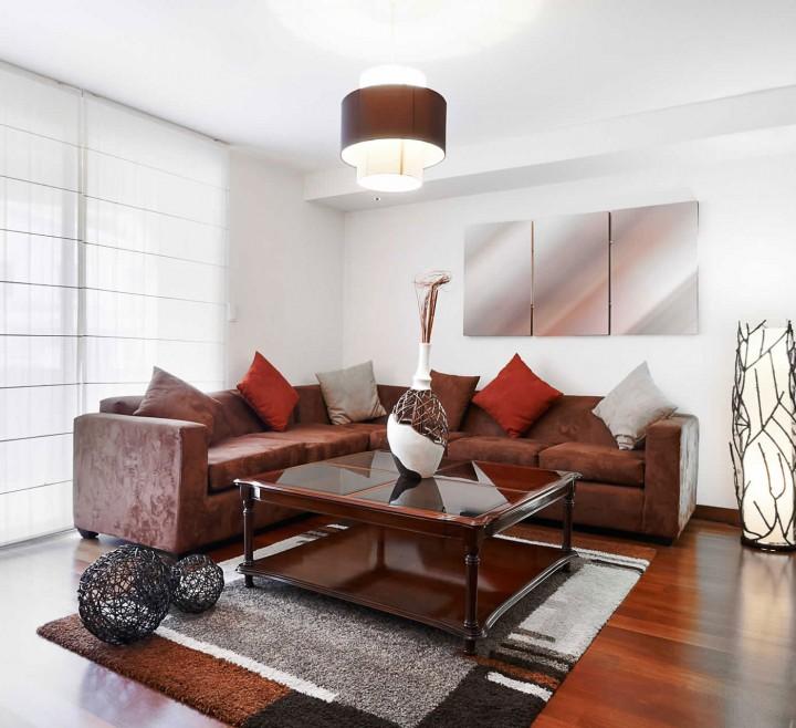 Home Interior with Sofa