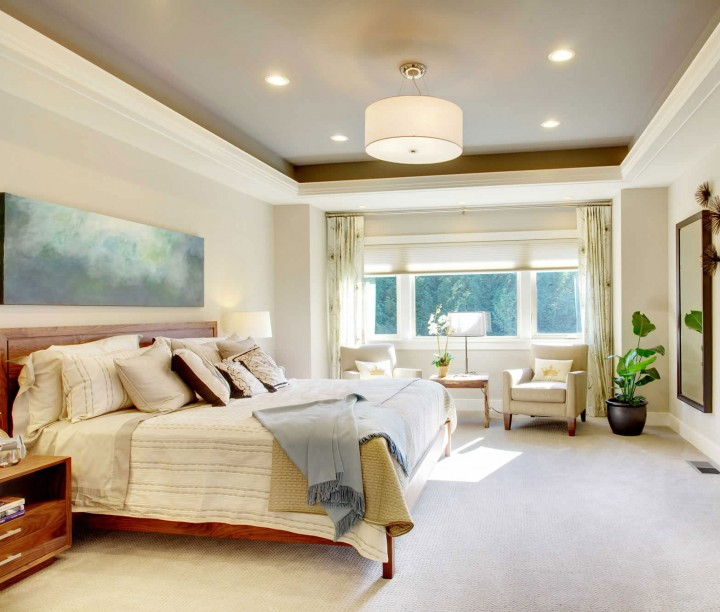 Clean Bedroom Interior Design