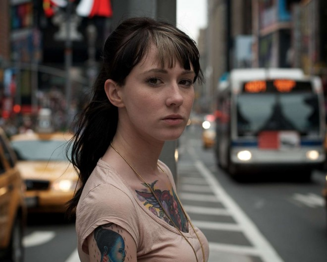 Girl with Tatto