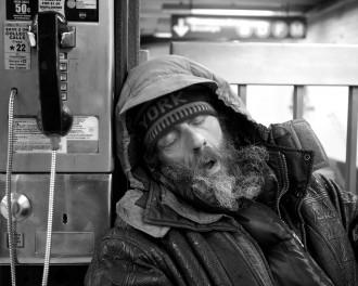Sleeping in Train