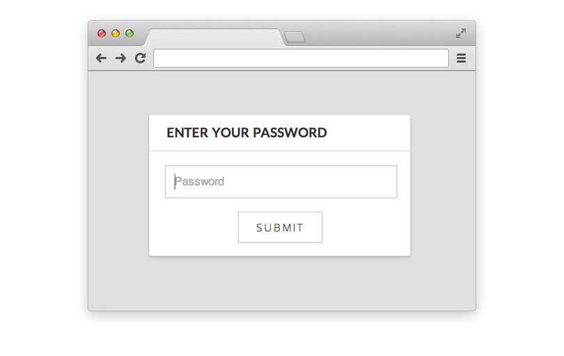 password-protected